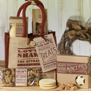 Gift Bag Of Festive Treats - yorkshire hampers