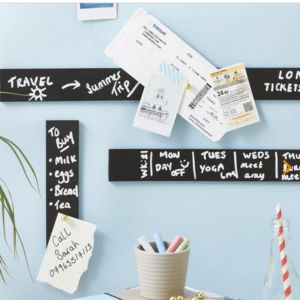 Self Adhesive Chalkboard Tape Wall Planner - wall stickers