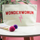 Wonderwomum Make Up Bag