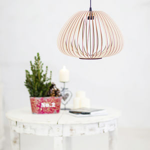 Tulip Wooden Lampshade, Ceiling Lights - ceiling lights