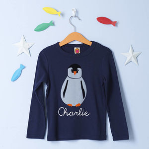 Penguin Top Personalised - t-shirts & tops
