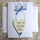 Personalised Special Age Birthday Card