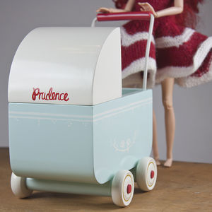Maileg Micro Dolls Pram - traditional toys & games
