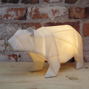 White Polar Bear Lamp - lighting