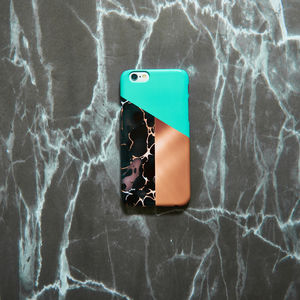 Marble Block Phone Case, More Colours