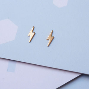 Lightning Studs - earrings