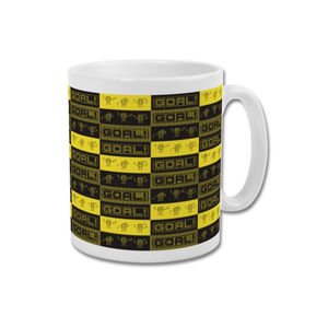 'Jumping Men' Minimalist Watford Fc Vicarage Road Mug - dining room