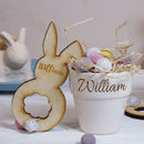 Easter Porcelain Pot Place Holder