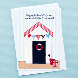 'Seaside' Personalised Father's Day Card