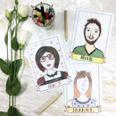 Wedding Guestbook Portrait Postcards