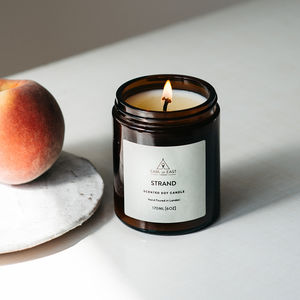 Mandarin Rind, Seaweed And Bay Leaf Scented Candle - the apothecary