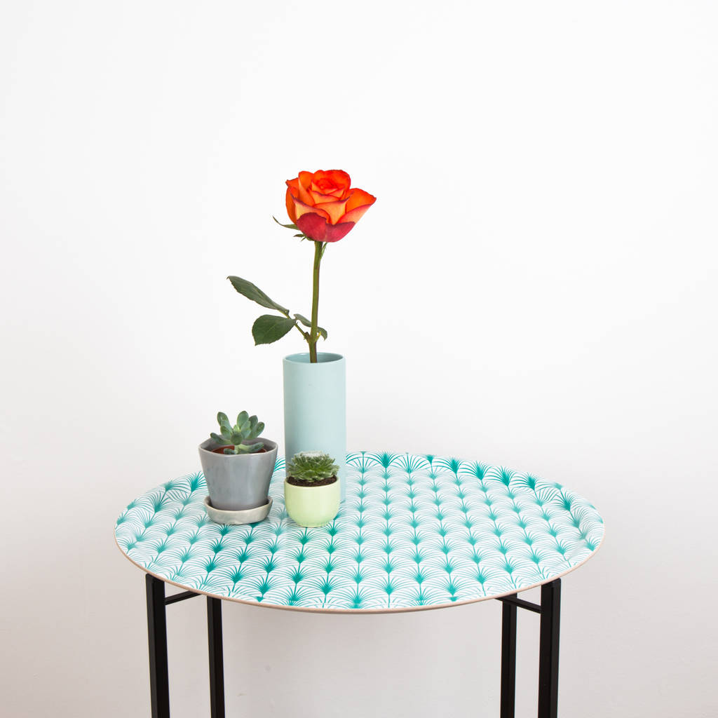 Geo Leaf Tray Table