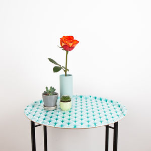 Geo Leaf Folding Tray Table
