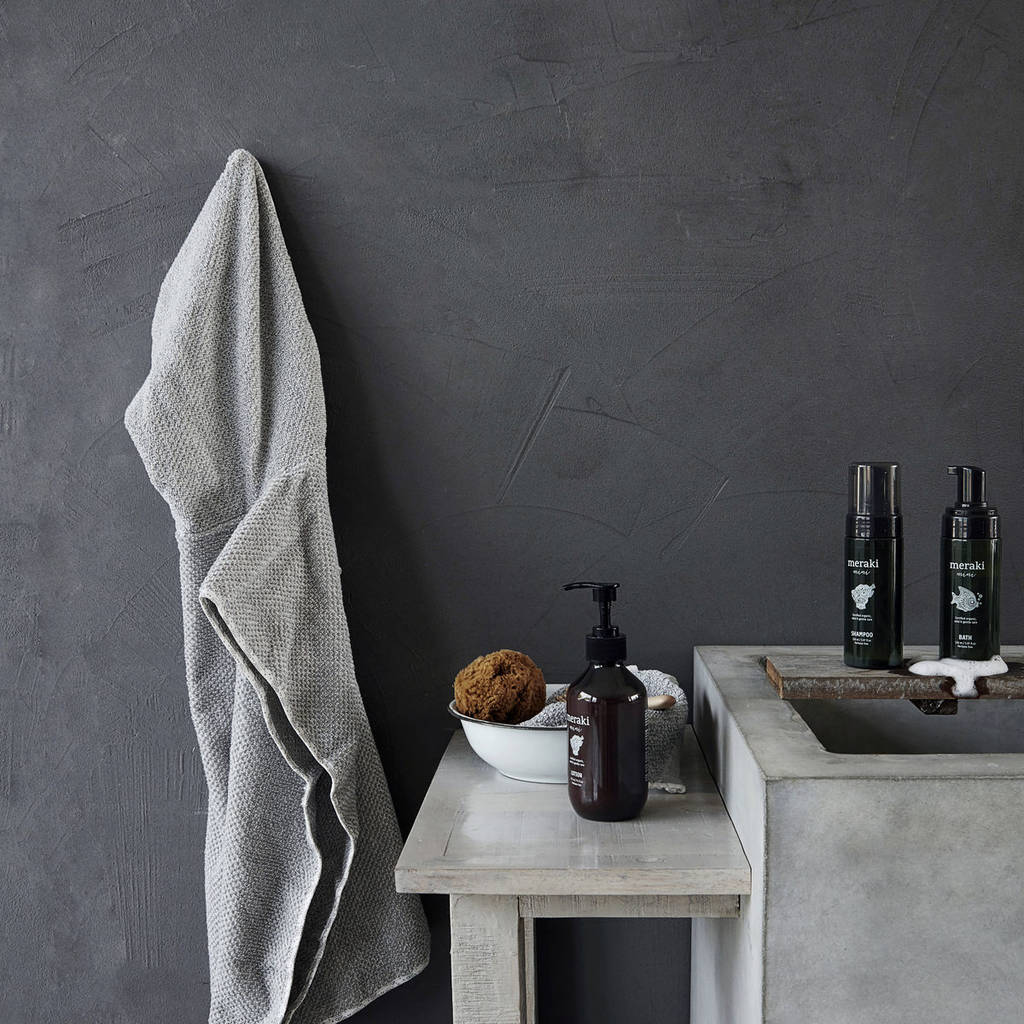 how to make a hooded towel poncho