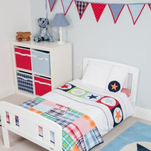 Big Star Multi Duvet Set - children's room