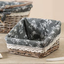 Giverny Heather Grey Willow Basket