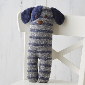 Dexter Dog Soft Knit Toy