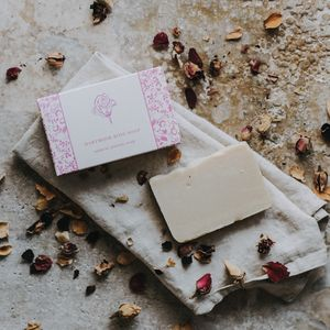 Dartmoor Rose Soap - bathroom
