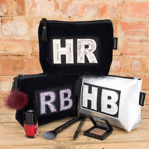 Personalised Makeup Bag - wash & toiletry bags