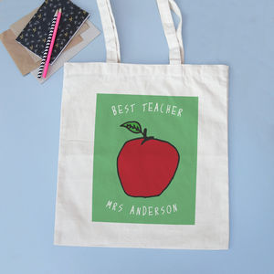 Personalised Apple Bag