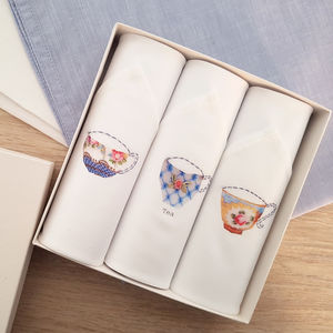 Afternoon Tea Set Handkerchiefs