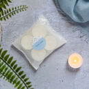 Eight Linen Fresh Natural Soy Wax Tealights