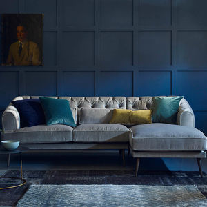 Earl Grey Corner Sofa With Chaise