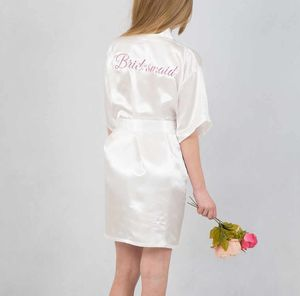 Childrens Personalised Robe Perfect For Flowergirls