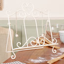 Amelie Cream Cook Book Stand