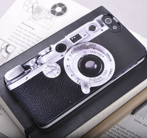 Vintage Camera Design iPhone Case - phone covers & cases