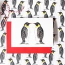 Penguin Love Christmas Card