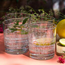 Meadow Glass Tumbler Set Of Four
