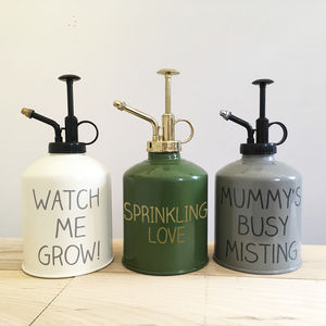 Personalised Plant Atomiser - gifts for her
