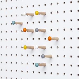 Coloured Pegboard Pegs