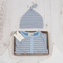 Baby Boys Hugo Playsuit And Hat Set