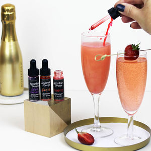Sparkle Drops To Make Your Prosecco Shimmer