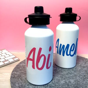 Personalised Water Bottle - camping