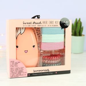 Sweet Peach Hair Care Set - hair accessories