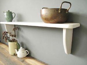 Hand Crafted Shaker Kitchen Shelf - furniture
