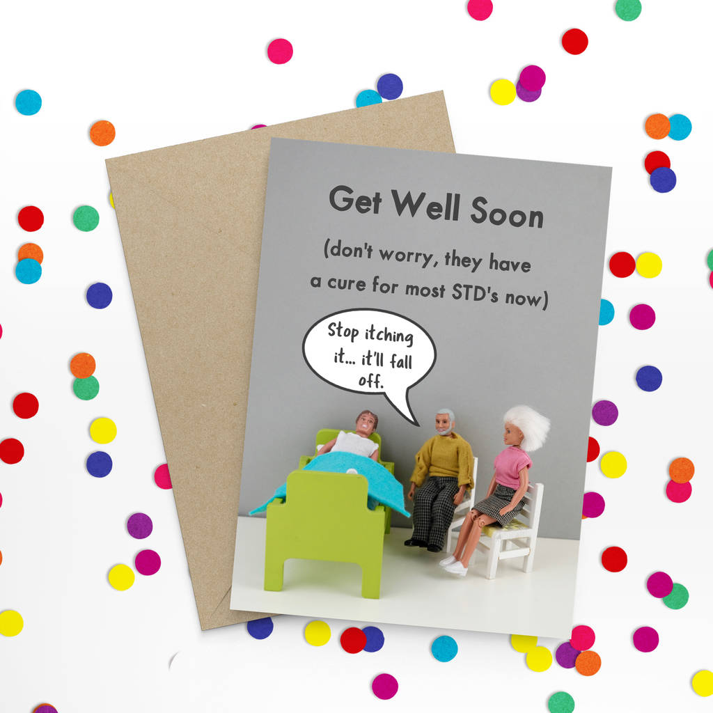 Funny Get Well Card By Bold Bright Notonthehighstreetcom