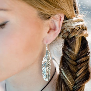Freedom Feather Earrings