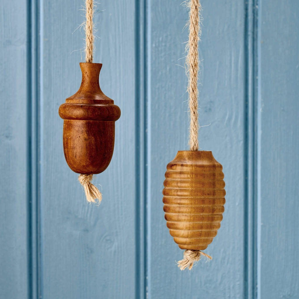 solid wooden oak rope bathroom light pulls by pushka home ...