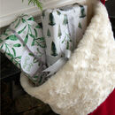 Luxury Personalised Christmas Stocking In Many Sizes