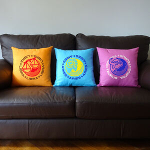 Zodiac Sign Cushions