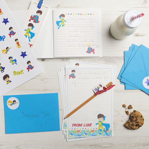 Personalised Superhero Stationery Bundle