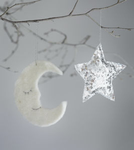 Moon And Star Decoration Set - whatsnew