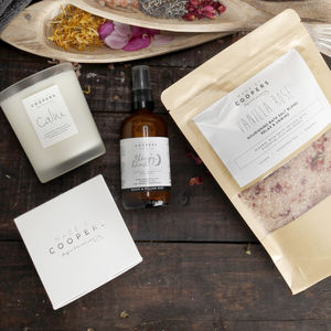 Calming Aromatherapy Gift Set Trio Of Tranquility - bath & body