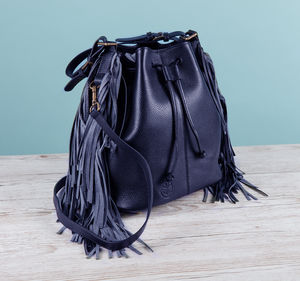The Islington Fringe Bag - cross-body bags