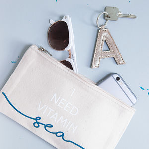 Vitamin Sea Travel Pouch - clutch bags