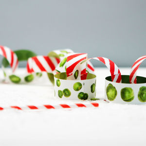 Christmas Sprout Colourful Paper Chains - christmas decorations